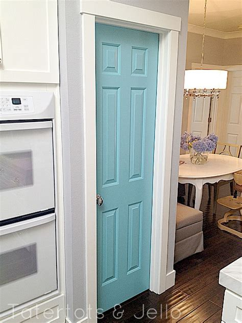 Blue Door Kitchen Blue Pantry Door For The Home Pinterest