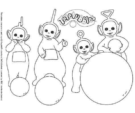 teletubies coloriage coloring home
