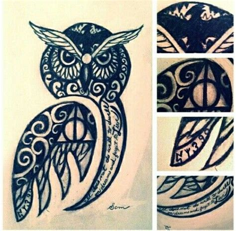 harry potter owl tattoo 53 best images about hairstyles on