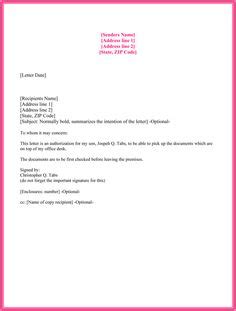 authorization letter yahoo choose from 10 free authorization letter sle and