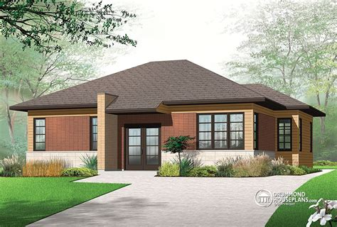 house design modern bungalow modern bungalow drummond house plans blog