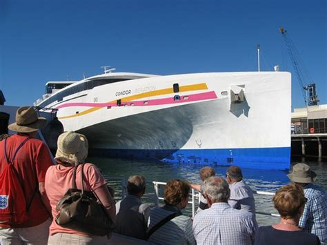 trimaran ferry photo0 jpg picture of condor ferries day trips poole