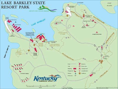 kentucky lake map pdf map of lake barkley kentucky map
