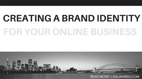 creating a brand identity creating a brand identity for your online business