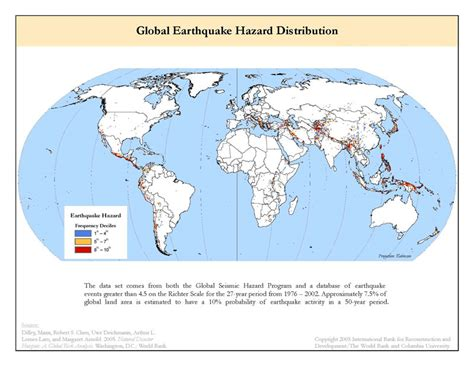 earthquake frequency earthquake frequency