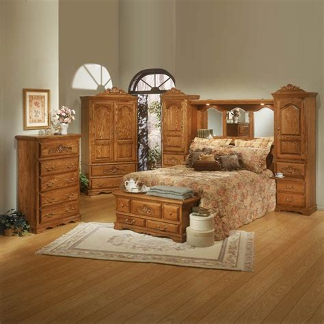oak bedroom sets bedroom dresser sets roundhill furniture emily wood with