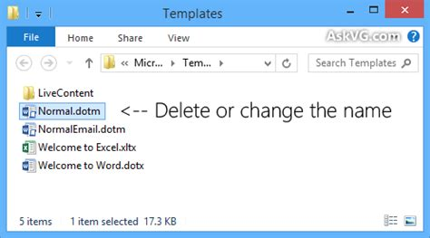 Word Cannot Open This Document Template