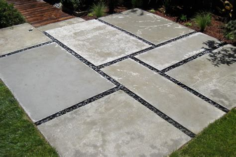 large concrete pavers for patio 2 modern landscape san francisco by shambhala