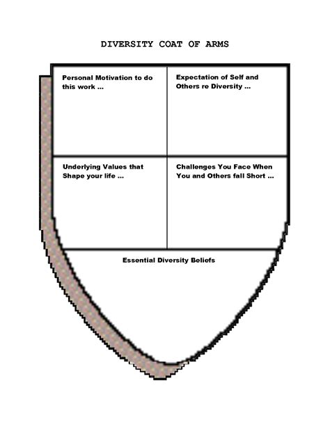 coat of arms template for students coat of arms worksheet worksheets releaseboard free