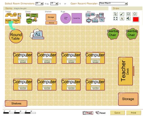 free classroom floor plan creator free classroom planner for teachers