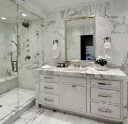 bianco carrara marble mosaic tile contemporary 30 marble bathroom design ideas styling up your private