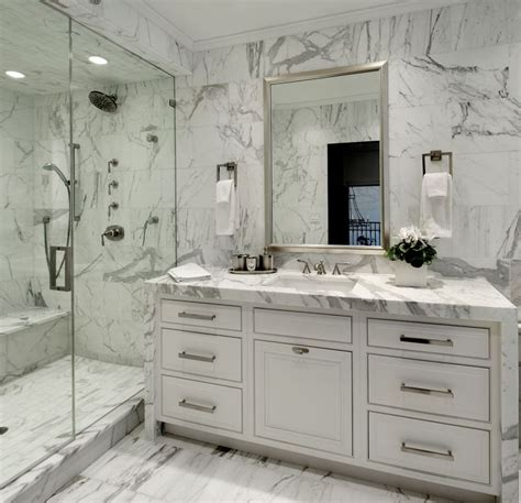 white carrara marble bathroom lauren coburn interiors bathrooms bianco carrara