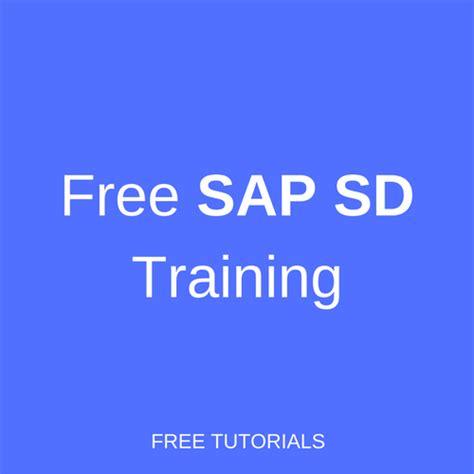 sap tutorial training sap sd training free online course erp 360