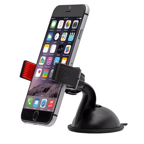 Clever U Grip Smartphone Holder universal car mount holder with sticky suction cup windshield mobile phone holder for