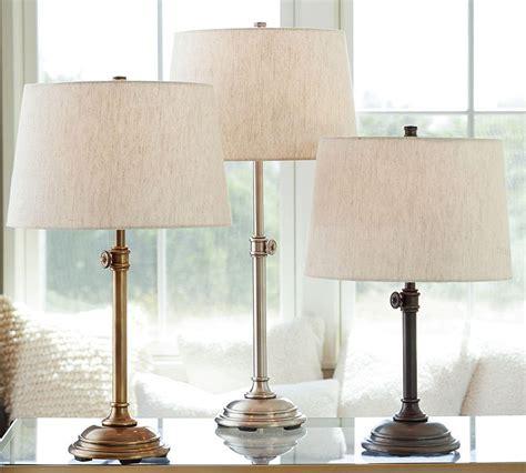bedroom table lights chelsea table amp bedside lamp base pottery barn ca 10700 | media