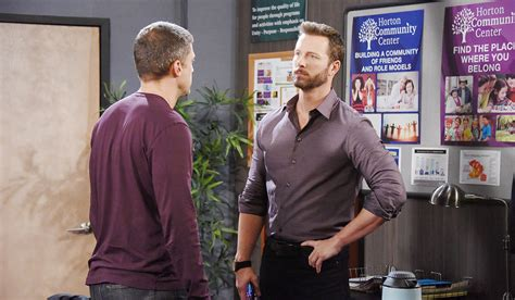 days of our lives greg vaughan eric and arianne zucker nicole days recap eric brady see each other for the first time