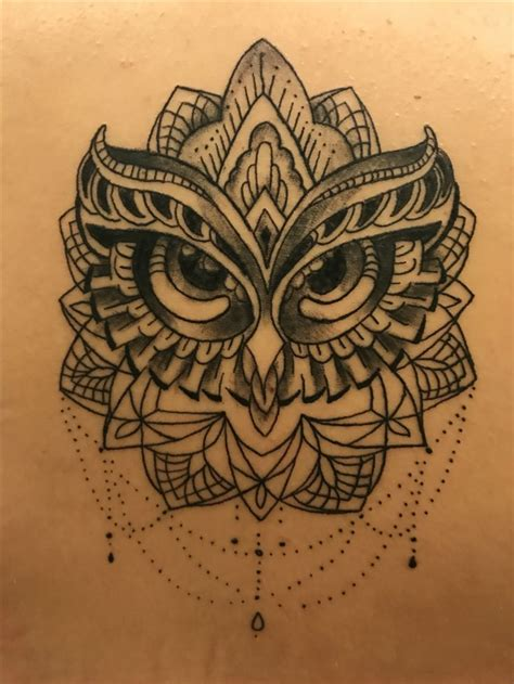 tattoo mandala owl owl mandala tattoo t a t t o o pinterest mandala