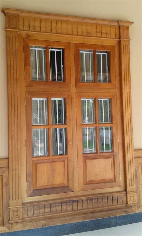 home windows design in kerala kerala style carpenter works and designs main entrance