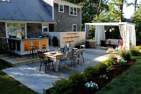 creating an outdoor living space landscaping ideas for the low maintenance yard modern