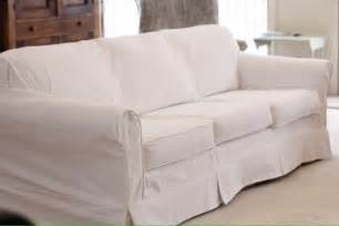 fibers white slipcover