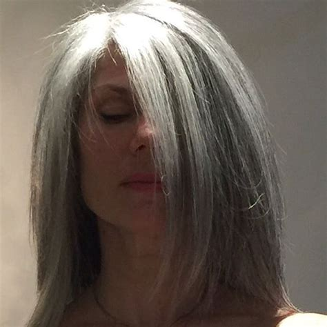 images of grey hair in transisition 18 best going gray gracefully images on pinterest going