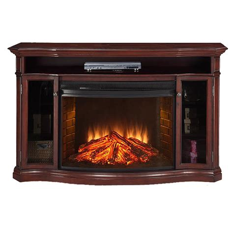 62 electric fireplace stereo cabinets tv swivel shelves