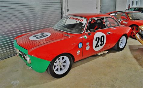alfa romeo race cars 1969 alfa romeo gtv gtam race car found in miami