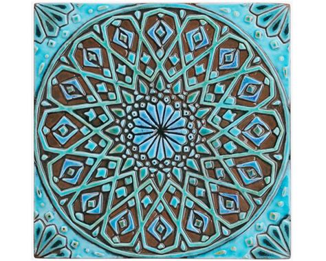 fliese ornament moroccan wall hanging made from ceramic exterior wall