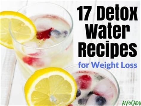 Water Detox Diet Recipes For Weight Loss by Detox Water Recipes For Weight Loss
