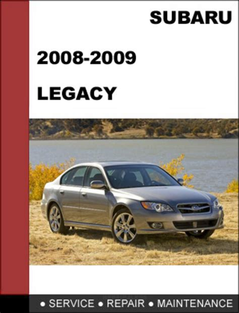 car service manuals pdf 2009 subaru legacy seat position control 2008 2009 subaru legacy repair service manual download download m