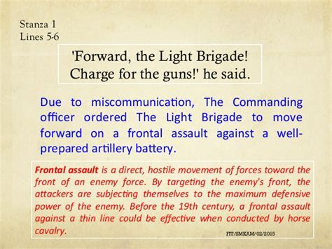 charge of the light brigade analysis the charge of the light brigade form 4 2015 pdf