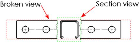solidworks rotate section view 2012 solidworks help rotated section views