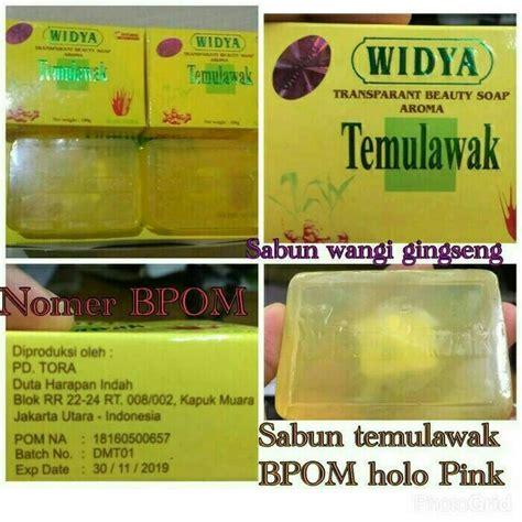 Sabun Temulawak Indonesia sabun temulawak widya bpom pusat stokis agen stokis