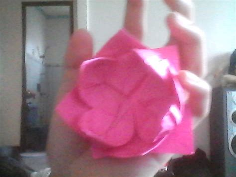 how to make origami lotus flower how to make a simple origami lotus flower 14 steps