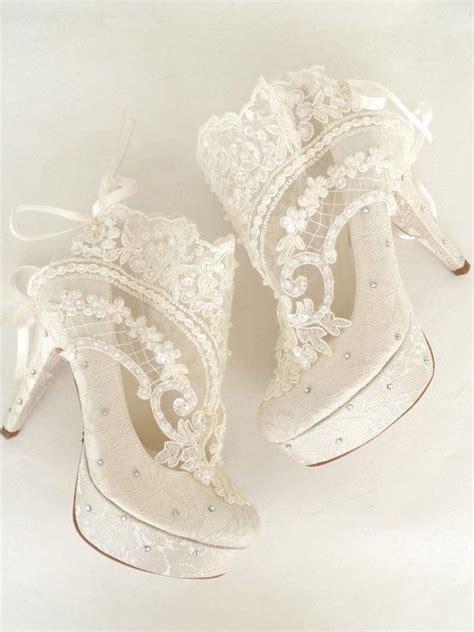 Schuhe Vintage Hochzeit by Die Besten 17 Ideen Zu Brautschuhe Ivory Auf