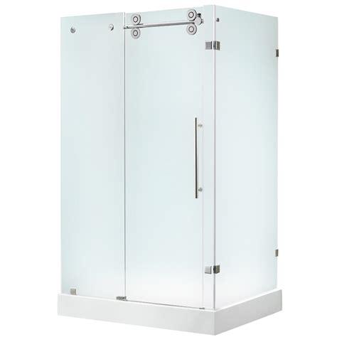 shop vigo frameless showers chrome rectangle 3