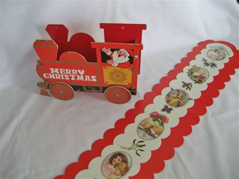 3 vintage christmas card holders from thedaisychain on