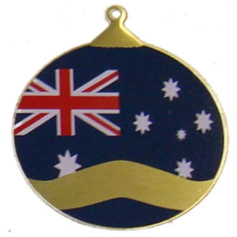 about australia shop christmas ornament australian flag