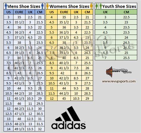 adidas shoes chart wallbank lfccouk