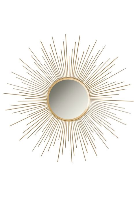 buy 36 quot gold sunburst circular metal wall mirror