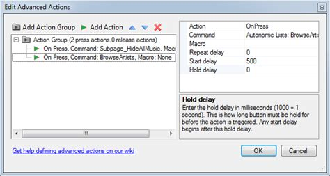 advanced button actions commandfusion wiki