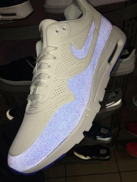 cute pattern nikes shoes sneakers nike air max grey blue suede suede