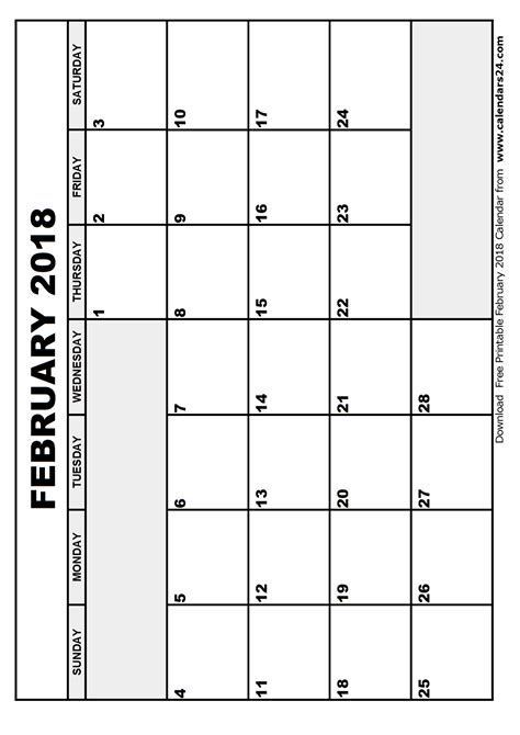 Calendar 2018 February And March February 2018 Calendar March 2018 Calendar