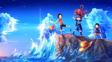 piece luffy ace sabo childhood friends hd anime wallpapers hd wallpapers id