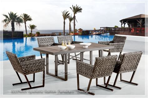 synthetic wicker outdoor furniture outdoor wicker furniture