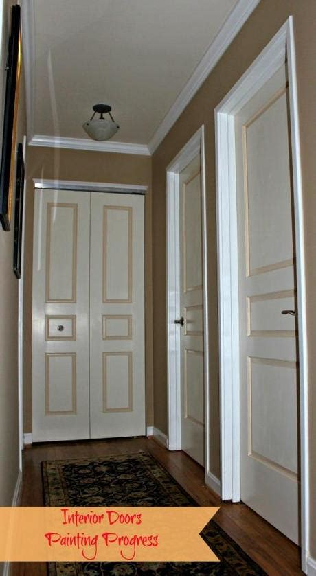 Bedroom Paint Designs Painting Interior Doors In Two Colors See How We Did It