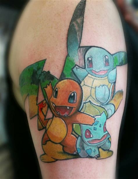 the best pokemon tattoos we ve ever seen tattoo artist