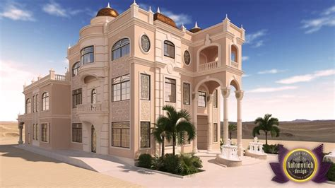 Home Design App Exterior luxury arabic villa exterior from antonovich design