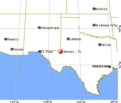 map of kermit texas kermit texas tx 79745 profile population maps real estate averages homes statistics