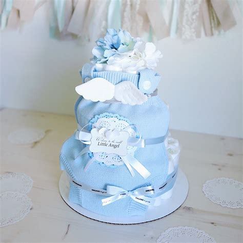cake for baby shower centerpiece wings cake for baby boy baby shower centerpiece